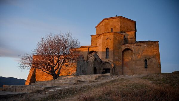 Храм Джвари VII века - Sputnik Грузия
