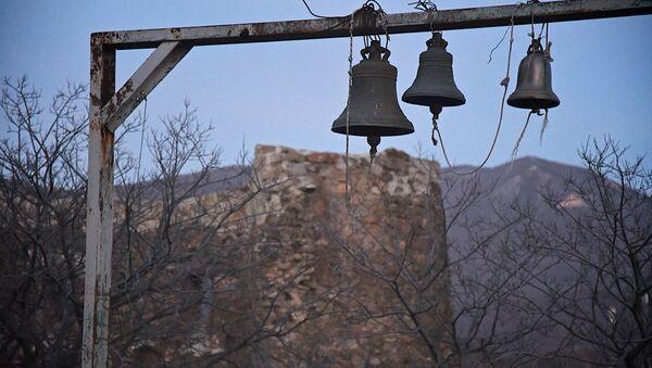 Колокола у храма Джвари - Sputnik Грузия