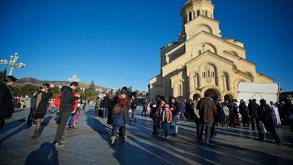 სამების ტაძარი - Sputnik საქართველო