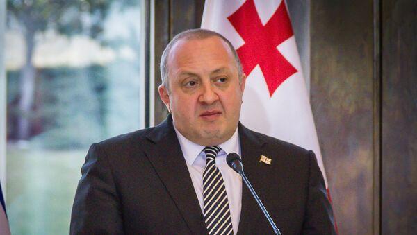 საქართველოს პრეზიდენტი გიორგი მარგველაშვილი - Sputnik საქართველო