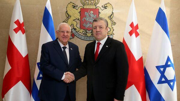 ისრაელის პრეზიდენტი და გიორგი კვირიკაშვილი - Sputnik საქართველო