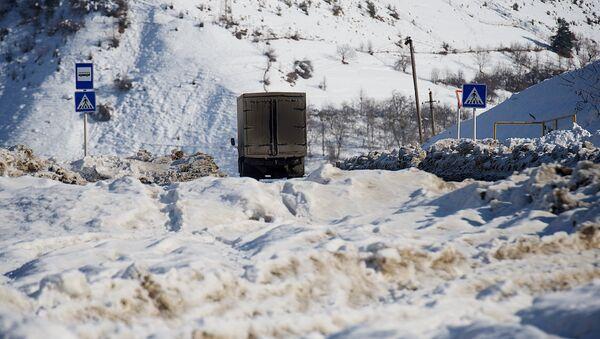 Снег в горах - Sputnik Грузия