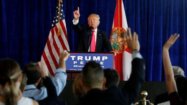 Избранный президент США Дональд Трамп на пресс-конференции - Sputnik Грузия