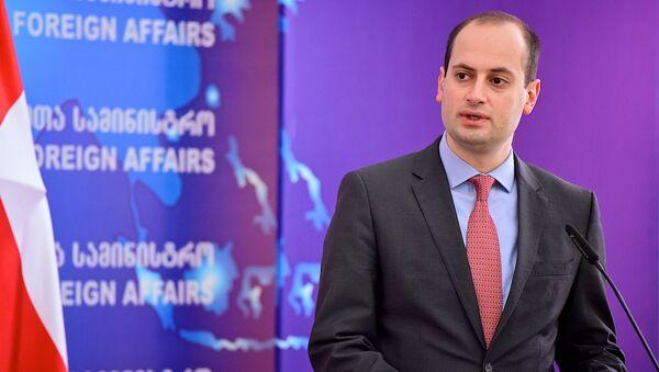 საქართველოს საგარეო საქმეთ მინისტრი მიხეილ ჯანელიძე - Sputnik საქართველო