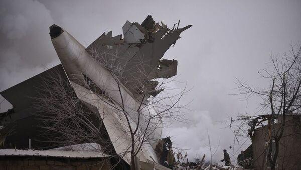 Грузовой самолет Боинг упал на село под Бишкеком - Sputnik Грузия