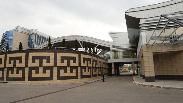 Терминал аэропорта Манас 2 в Бишкеке, архивное фото - Sputnik Грузия