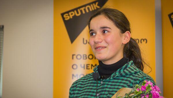 Участница проекта НТВ Ты - супер! Нана Вардзелашвили - Sputnik Грузия