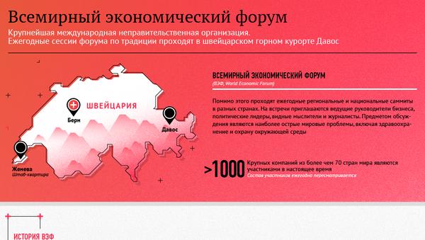 Всемирный экономический форум - Sputnik Грузия