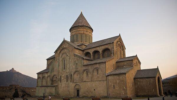 Храм Светицховели во Мцхета - Sputnik Грузия