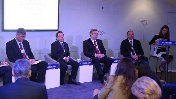Премьер Грузии Георгий Квирикашвили на Всемирном экономическом форуме в Давосе - Sputnik Грузия