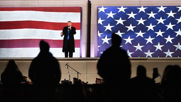 Избранный президент США Дональд Трамп выступает на концерте, посвященном предстоящей инаугурации - Sputnik Грузия