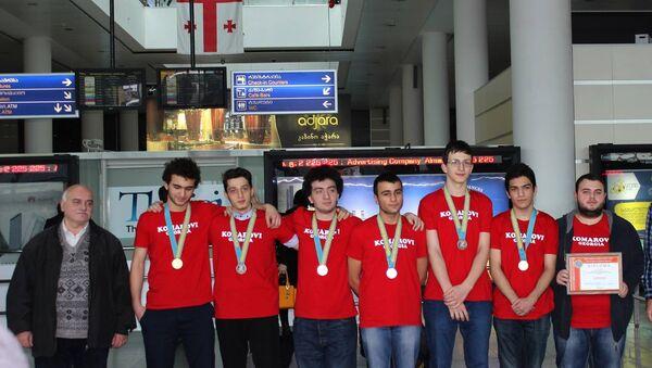 Победители XIII Международной Жаутыковской олимпиады - Sputnik Грузия
