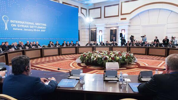 Встреча по Сирии в Астане - Sputnik Грузия