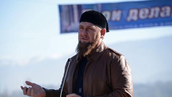 Глава Чеченской Республики Рамзан Кадыров - Sputnik Грузия