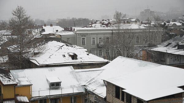 Снег в Тбилиси - Sputnik Грузия