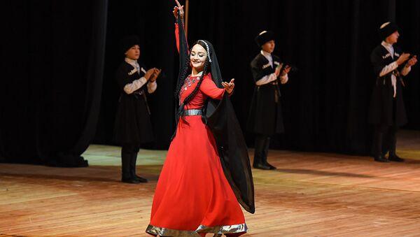 ქართული ხალხური ცეკვა - Sputnik საქართველო