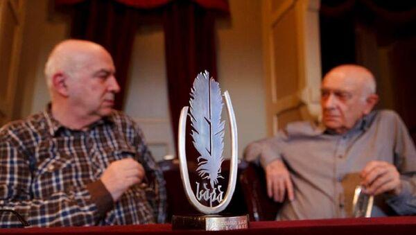 Леван Брегадзе - обладатель литературной премии Саба - Sputnik Грузия