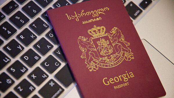 Грузинский заграничный паспорт - Sputnik Грузия