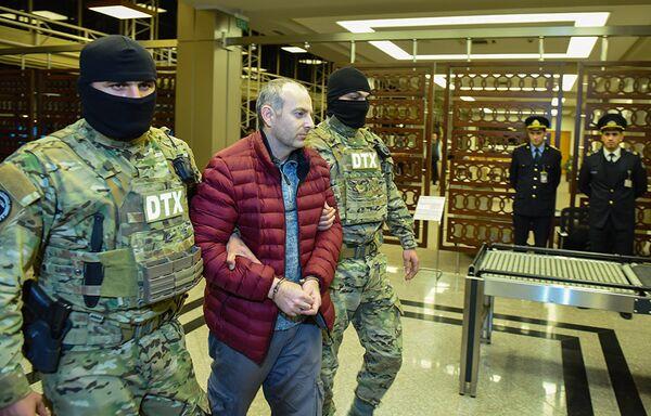 Блогер Александр Лапшин был задержан в Беларуси еще в декабре 2016 года по запросу Азербайджана - Sputnik Грузия