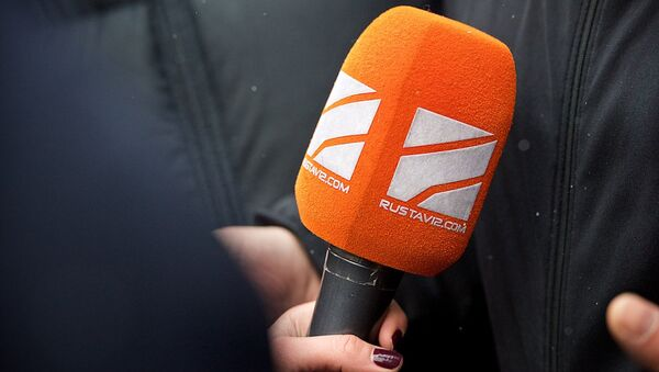 """""""რუსთავი 2-ის"""" მიკროფონი - Sputnik საქართველო"""