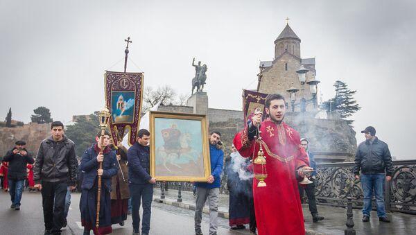 В Тбилиси отметили День Святого Саркиса, покровителя влюбленных - Sputnik Грузия