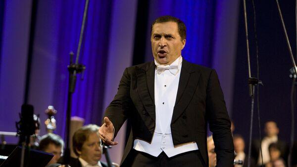 ოპერის მომღერალი პაატა ბურჭულაძე - Sputnik საქართველო