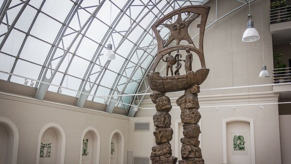 Музей современного искусства Зураба Церетели - Художественная галерея MOMA Tbilisi  - Sputnik Грузия