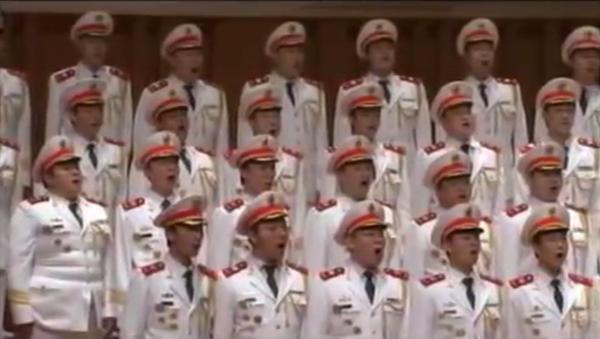Хор народной полиции Китая поет Сулико - Sputnik Грузия