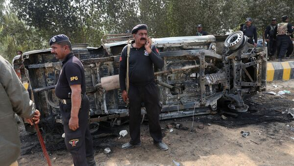 პოლიცია პაკისტანში - Sputnik საქართველო