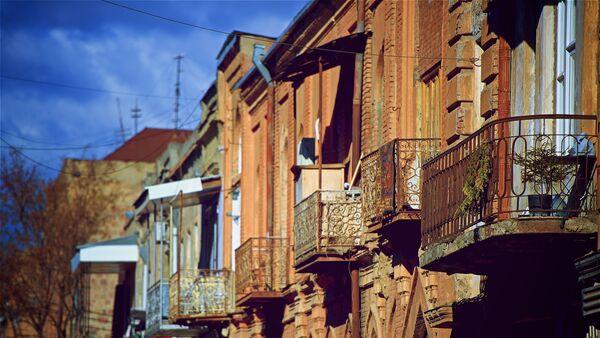 Дома в старом Тбилиси - Sputnik Грузия