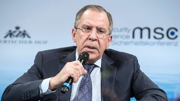 Министр иностранных дел РФ С. Лавров на 53-й Мюнхенской конференции по безопасности - Sputnik Грузия