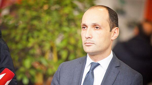 საქართველოს სოფლის მეურნეობის მინისტრი ლევან დავითაშვილი - Sputnik საქართველო