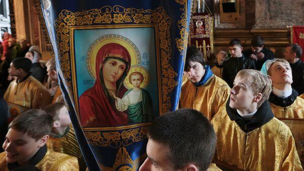 Божественная литургия с крестным ходом - Sputnik Грузия