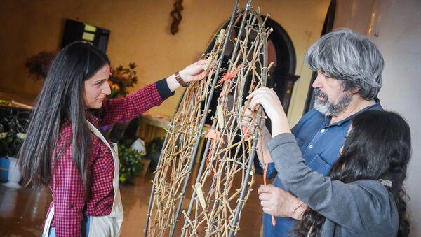 Как украсить свадебный зал: мастер-класс немецкого дизайнера - Sputnik Грузия