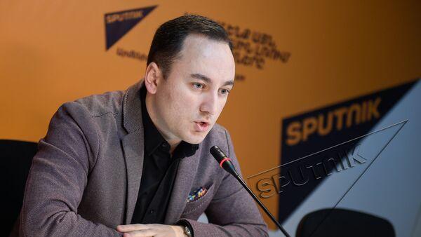 Видеомост в Sputnik Армения. Джонни Меликян - Sputnik Грузия