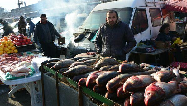 თევზით ვაჭრობა - Sputnik საქართველო