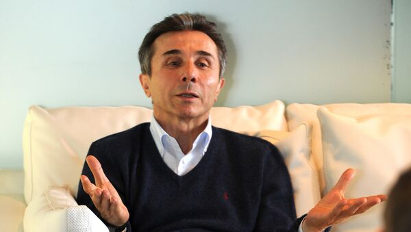 Миллиардер и основатель Грузинской мечты Бидзина Иванишвили - Sputnik Грузия