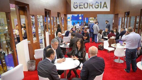 Уголок Грузии на выставке в Дубаи - Sputnik Грузия
