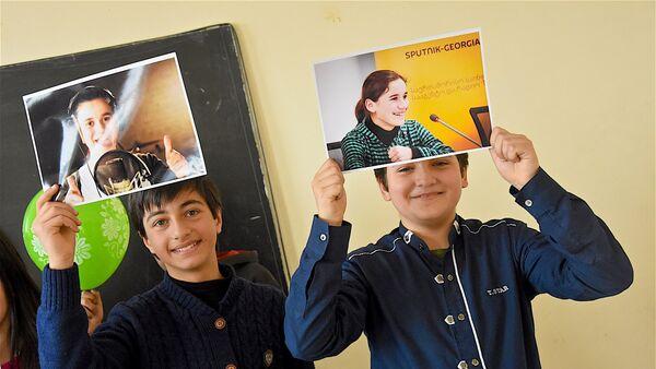 Одноклассники и друзья Наны Вардзелашвили болеют за нее на проекте Ты супер! - Sputnik Грузия