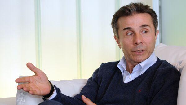 Грузинский миллиардер, экс-премьер и основатель партии Грузинская мечта Бидзина Иванишвили - Sputnik Грузия