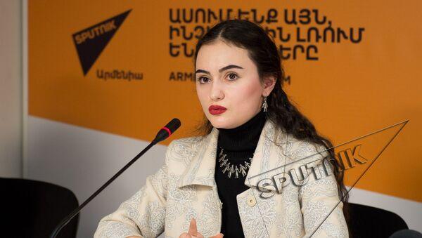 Рима Пипоян в пресс-центре Sputnik Армения - Sputnik Грузия