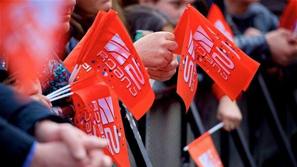 Акция-концерт в поддержку телекомпании Рустави 2 - Sputnik Грузия