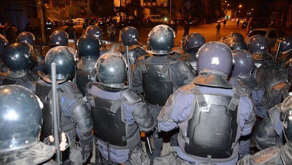 Полицейский спецназ был выведен на улицы Батуми для подавления беспорядков - Sputnik Грузия
