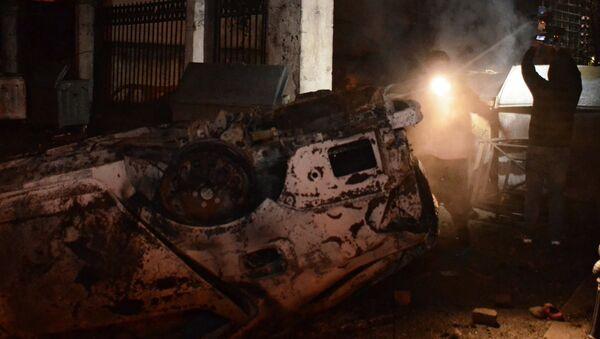 Последствия беспорядков и погромов в центре Батуми - Sputnik Грузия