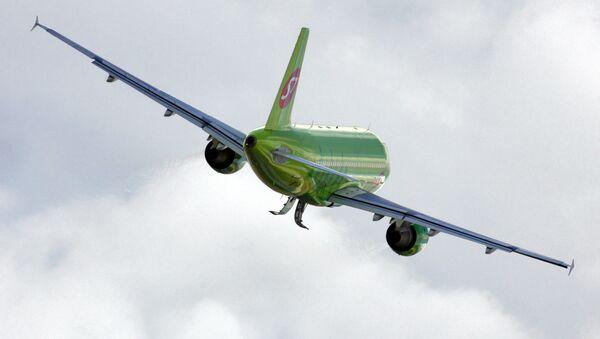 ავიაკომპანია სიბიის თვითმფრინავი - Sputnik საქართველო