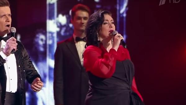 Тамара Гвердцители и Глеб Матвейчук исполнили Барселона - Sputnik Грузия