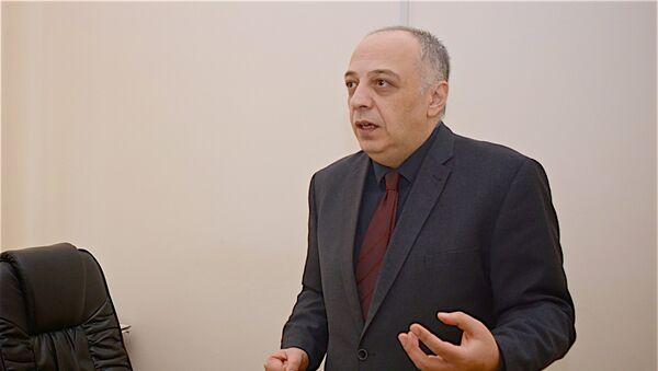 Директор Батумской Республиканской больницы Малхаз Халваши - Sputnik Грузия
