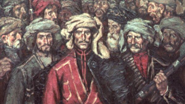 Картина Георгия Тотибадзе Восстание в Гурии - Sputnik Грузия