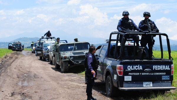 მექსიკის პოლიცია გაქცეული ნარკობარონის ძებნისას - Sputnik საქართველო