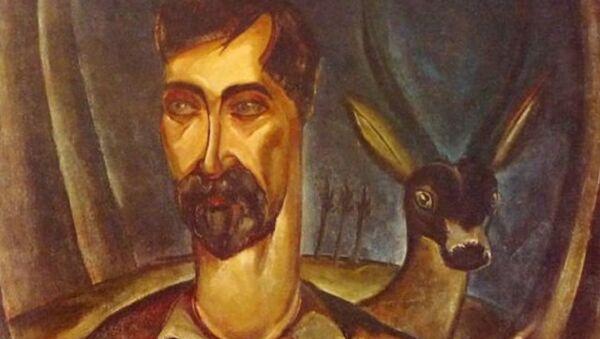 Картина Ладо Гудиашвили Нико Пиросмани (1928) - Sputnik Грузия